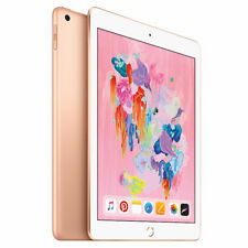 Apple iPad  9.7 Inch WiFi 128GB - Gold (2018)  **BRAND NEW +  WARRANTY**