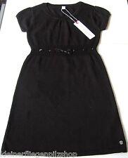 Strick Kleid Gr.134 Esprit NEU m.E 100% Baumwolle Ajour Sterne schwarz