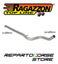 RAGAZZON TUBO CENTRALE NO SILENZIATORE PEUGEOT 207 1.6 16V THP GTi
