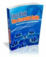 FaceBook The Essential Guid - eBooks Package Collection Pdf Format Free Shipping