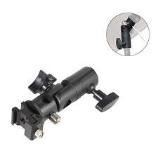 Stand Bracket Hot Shoe Umbrella Holder Mount Adapter E Type Flash Bracket