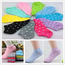 5 Paare Nette Süßigkeit Damen Kurze Socken Baumwolle Sport Herz Baumwollsocken