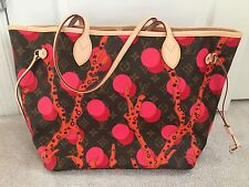 NEW Louis Vuitton NEVERFULL MM Bag Monogram RAMAGE AUTHENTIC No Pouch
