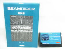 MSX BEAMRIDER No Case Cartridge GOOD Condition Ref/060 Japan Video Game msx