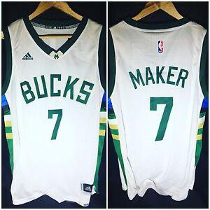 Thon Maker Milwaukee Bucks Home Swingman Jersey