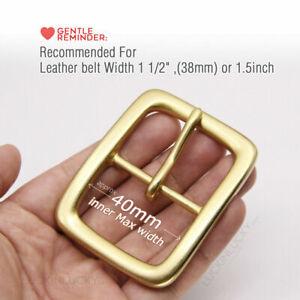 """Solid brass buckle Belt Buckle / Vintage Buckle / Men Belt Buckle for 1 1/2""""38mm"""