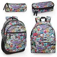 Girls Boys Mens Backpack Rucksack School College Travel Work Laptop Bag OCTOPUS