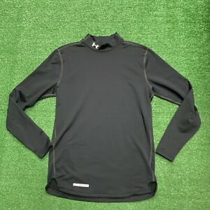 Under Armour Cold Gear Long Sleeve Turtle Neck Shirt Fitted Mens Sz Medium