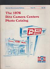 Ritz Camera Centers Photo Catalog 1976 Cameras Accessories