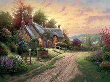 Thomas Kinkade A Peaceful Time  1712/2850 SN