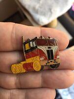 18 Wheeler Trucker enamel pin cab retro vintage NOS hat lapel bag 80s