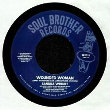 BRAND NEW  - SANDRA WRIGHT - Wounded Woman / Midnight Affair on  SB7033