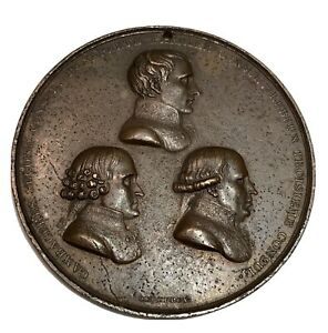 FRANCE NAPOLEON 1er Bonaparte Médaille 3 Consuls de 1802 CONSULAT paix d'Amiens