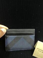 new! NWT BURBERRY card case wallet men Women MsrP $180 Deal RARE!