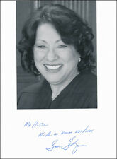 SONIA SOTOMAYOR - INSCRIBED PHOTOGRAPH SIGNED