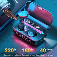 Wireless Bluetooth 5.1 Earphones Headphones TWS Mini Earbuds Waterproof Headset