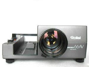 Rolleivision 66AV, Rollei Diaprojektör 6x6 Con Heidesomat 1:3 .5/110-160 # Top #