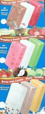 9 Flavors of Fruit Bars decals for ice cream truck