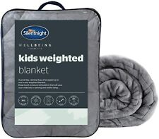 Silentnight Kids Weighted Blanket 3kg Calming Relief Relaxation Anti Anxiety