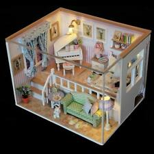 DIY 3D Handcraft Mini Dollhouse Project Kit with Dust Cover- Because of You