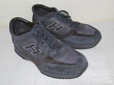HOGAN INTERACTIVE scarpe uomo n. 6 39-40 it.) pelle tessuto grigio blu