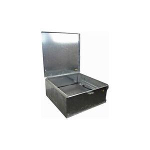 Permanent Meter Box + Panel 330mm x 345mm x 250mm