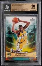 2007-08 UD Rookie Box Set Kevin Durant ROOKIE RC #11 BGS 10 PRISTINE