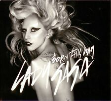 LADY GAGA - Born this way DIGIPAK CDM 4TR 2011 SYNTH-POP / SEALED / NEW