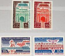 MAURITANIA MAURETANIEN 1965 261-64 199-02 Choum Railroad Country Development MNH