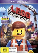 The Lego Movie (DVD, 2014) Region 4 Children & Family Animation DVD Rated PG