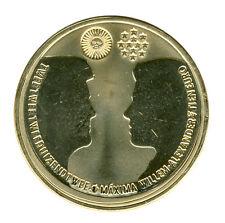 NIEDERLANDE - 10 Euro 2002 - HOCHZEIT - SILBER - vergoldet (8679/209)