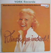 DINAH SHORE - Dinah Yes Indeed! - Ex Con LP Record