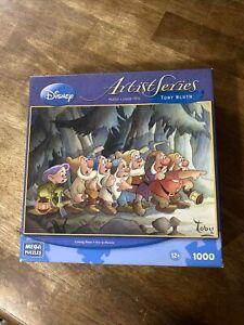 Disney Coming Home Seven Dwarfs 1000 Piece Jigsaw Puzzle NEW