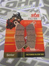 SBS Street Excel Sinter HH REAR Brake Pads for BMW R1200GS R1200 GS 2013-2016