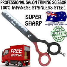 PROFESSIONAL BARBER HAIRDRESSING SALON HAIR THINNING SCISSORS RAZOR SHEARS BLADE