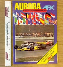 Amazing 32 pg. 1981 1982 FINAL Aurora AFX International Release Slot Car Catalog
