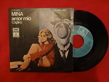 "MINA Amor Mio / Capiro 7"" SINGLE SPAIN PRESS (EX-/EX-) G"
