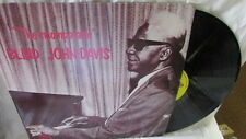 "BLIND JOHN DAVIS ""THE INCOMPARABLE"" LP OLDIE BLUES"