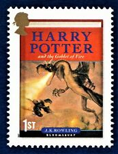 Harry Potter and the Goblet of Fire Illustrated on a Stamp Unmounted Mint