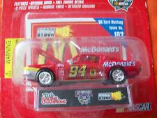 Bill Elliott '68 FORD MUSTANG McDONALD'S ISSUE 102 STOCK ROD  Racing Champions