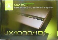 New JL AUDIO JX1000/1D 2000 Watt Car Monoblock Amplifier Mono Sub Amp 1000 Rms D