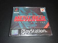 Metal Gear Solid Special Missions PS1 Play Station PAL ESPAÑOL NUEVO PRECINTADO