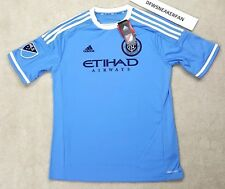 Adidas Mls New York City Size Youth Xl 15-16 Nyclampard #8 Soccer Jersey Blue