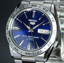 全新現貨SEIKO精工 Men's SNKD99K1 5 不銹鋼Blue Dial 手錶 HK*1