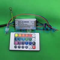 10W RGB Waterproof AC Driver 85~265V Power Supply for LED Light + Remote control