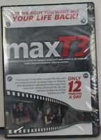 MaxT3 high intensity short duration exercise fitness 12 minute workouts DVD Hiit