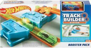 Hot Wheels GBN81 Track Builder Booster Pack Beschleuniger 2 Tracks und 1 Auto