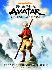 AVATAR THE LAST AIRBENDER: ART OF ANIMATED SERIES HARDCOVER Nickelodeon HC