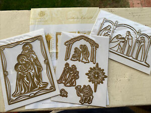 New! Anna Griffin Nativity Die set, Christmas Card Making, Jesus, Holiday Crafts