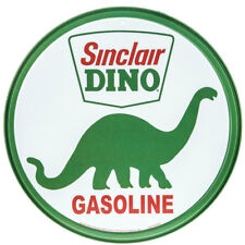 Sinclair Dino Gasoline Tin Sign 12 X 12in 605279102075
